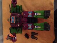 original collectors toys transformers , deception Generation 1 G1 Scorponok .