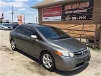 2008 Honda Civic LX****FULLY LOADDED***SUNROOF***AUTO**144 KMS
