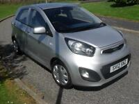 Kia Picanto 1.0 ( 68bhp ) 2012 MY Picanto 1 Zero Road Tax ONLY 42400Mls Clean