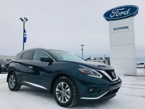 2018 Nissan Murano SL, AWD, LOADED, $258 Bi-Weekly! Leather, 39,