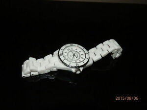 Montre pour femme CHANEL céramique CHANEL watch white ceramic