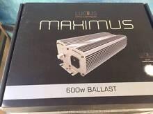 HYDROPONIC LIGHTS MAXIMUS DIGITAL BALLAST 600W Homebush Strathfield Area Preview