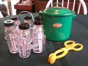 Amsco jade doll bottle warmer plus 6 mint Evenflo doll bottles