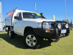 2008 Nissan Patrol GU 6 DX White 5 Speed Manual Cab Chassis Wangara Wanneroo Area Preview