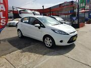 2010 Ford Fiesta WS CL White 5 Speed Manual Hatchback Lidcombe Auburn Area Preview