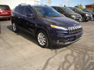 2015 Jeep Cherokee Limited V6 4WD SUV, Crossover