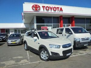 2011 Holden Captiva CG Series II 7 SX (FWD) White 6 Speed Automatic Wagon Belmore Canterbury Area Preview