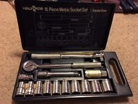halfords metric socket set