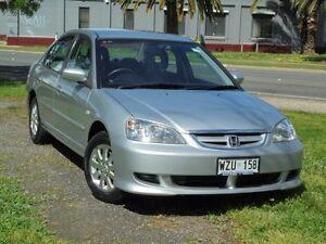 2003 Honda Civic 7TH GEN GLi Satin Silver 4 Speed Automatic Sedan Albert Park Charles Sturt Area Preview