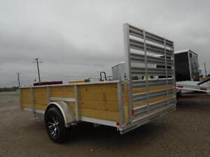 ALL ALUMINUM HIGH SIDED 6.5 X 12' LANDSCAPE TRAILER LOWEST PRICE London Ontario image 9