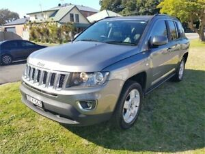 2014 Jeep Compass MK MY14 North (4x2) Grey 6 Speed Automatic Wagon Broadmeadow Newcastle Area Preview