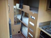 2010 Elddis Avante 646 + Mover + Full Awning + Porch Awning