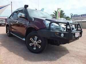 2013 Isuzu D-MAX MY12 LS-Terrain Crew Cab Red 5 Speed Manual Utility Rosslea Townsville City Preview