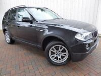 BMW X3 2.0 D SE ....Lovely Low Mileage Diesel BMW X3 4x4 in Outstanding Condition Throughout