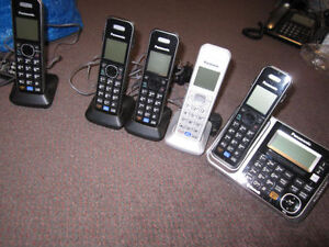 6 Panasonic or Vtech Home Phone Sets with Bluetooth/Link-to-Cell Kitchener / Waterloo Kitchener Area image 4