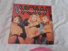 Vinyl LP Wow ! Bananarama London Records RAMA 4 Stereo 1987