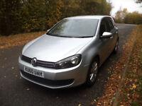 (New Shape) 60 Plate -2010 - Volkswagen Golf Bluemotion SE - 1.6 TDI Diesel - DAB Radio!!!