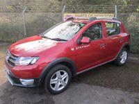 Dacia Sandero Stepway 1.5 Laureate DCi Turbo Diesel 5DR (cinder red) 2014