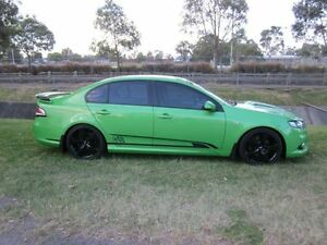 2009 FPV GS FG GS Green 6 Speed Manual Sedan Mayfield East Newcastle Area Preview