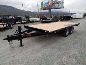 NEW 14,000# 14' HEAVY DUTY EQUIPMENT DECKOVER TRAILER