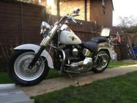 Amazing Harley Davidson FLSTFI Fatboy Motorcycle With Alarm Kit Recent Upgrades Great Price