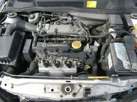 vauxhall astra 1.6 8 valve engine. fully tested with warranty 56k miles