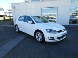 2013 Volkswagen Golf VII 103TSI DSG Highline Pure White 7 Speed Sports Automatic Dual Clutch Nowra Nowra-Bomaderry Preview