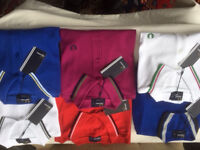 FRED PERRY POLO SHIRTS M3600 STYLE - RANGE OF COLOURS