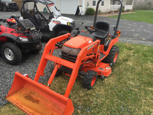 2004 KUBOTA BX 1500 D TRACTOR MOWER LOADER( WE FINANCE )