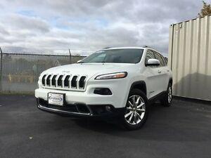 2016 Jeep Cherokee Limited  Y.E.S WAS $29,950 NOW $27,777