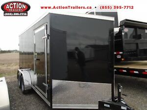 2016 HAULIN enclosed 14' cargo trailer BEST BANG FOR YOUR BUCK
