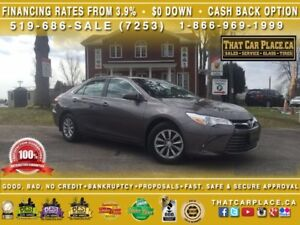 2016 Toyota Camry LE-$72/Wk-RearCam-Bluetooth-AUX/USB-PwrGroup