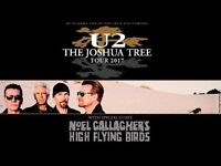 2 x U2 TICKETS FOR SALE SEATED DUBLIN 22ND JULY