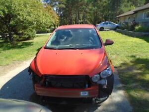 2013 Chevrolet Sonic LT Re-builder
