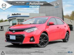2015 Toyota Corolla SPORTY- SPACIOUS- FUEL EFFICIENT-TOUCHSCREEN