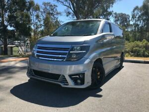 2005 Nissan Elgrand 4WD Highway Star Grey 4 Speed Automatic Wagon Kingston Logan Area Preview