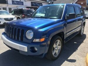 2010 JEEP PATRIOT LTD.|LEATHER|POWER GROUP|HEATED SEATS|CD CHANG