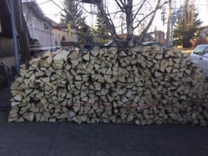 """"" FIREWOOD FOR SALE "" SPRUCE & PINE SPLIT DRY FIREWOOD"""