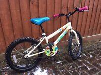 "Apollo Woodland Charm Girls Bike 18"" age approx 5-8"