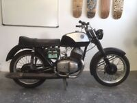 CZ 250cc Twin Sport 1975 Motorcycle project lots of new parts