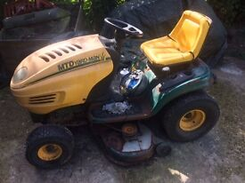 Petrol ride on mower. DIY project for enthusiast. Parts/Spares.