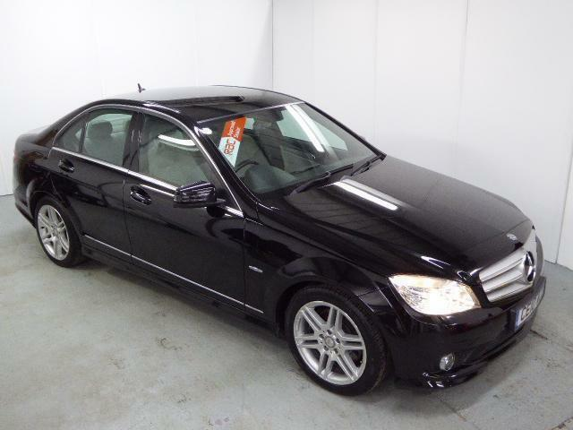 Mercedes c class c350 cdi blueefficiency sport black for Mercedes benz c350 2010