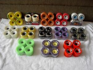 """Awesome selection of Brand """" NEW"""" Longboard/Cruiser wheels."""