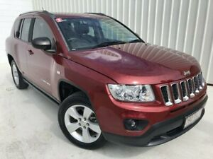 2013 Jeep Compass MK MY13 Sport Red 5 Speed Manual Wagon
