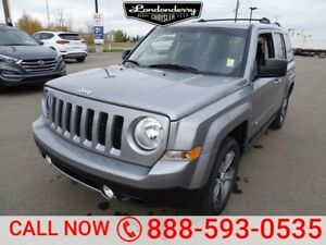 2017 Jeep Patriot 4WD HIGH ALTITUDE Leather,  Heated Seats,  Blu