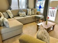 LUXURY EX DEMO HOLIDAY HOME NR ROCK, PADSTOW, PORT ISSAC, CORNWALL, 2017 SITE FEES INCLUDED