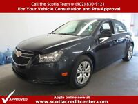 -2014 Chevrolet Cruze LT- Only 15,000 km ! Low Low Paymets !