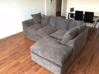 """SPECIAL OFFER""! KENNING JUMBO CORD CORNER SOFA"