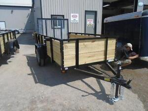 HIGH SIDED UTILITY TRAILER W/MORE FEATURES 5X10 BED SIZE London Ontario image 7