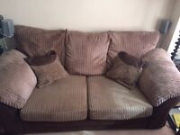 2 Seater Sofa Bed & Single Chair